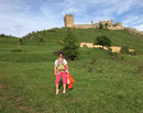 Hike with kids: Urcus pana la Cetatea Coltesti si vizita in satul Rimetea