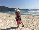 Outfit of the day: La plaja pe insula