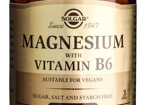 Magneziu cu vitamina B6 de la Solgar, aliatul taƒu in lupta cu stresul și oboseala
