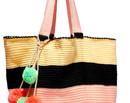 Geanta saptamanii: Cu colorata, hai la plaja!