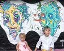 La pas prin Bucuresti-ul colorat: Arthur Verona, strada plina de desene