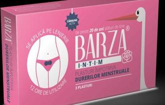 BARZA lanseazaƒ plasturii impotriva durerilor menstruale!