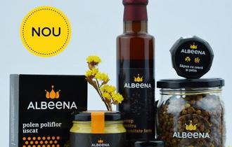 "ALBEENA ofera ""Bine de la albine"" prin gama de produse apicole romanesti"