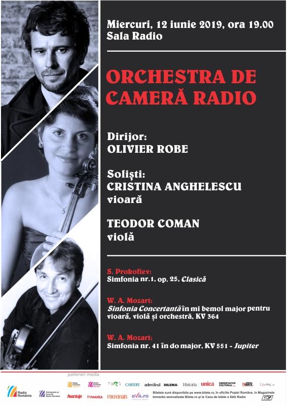 Ultima simfonie a lui Mozart: �Jupiter� dirijata de Olivier Robe la Sala Radio!