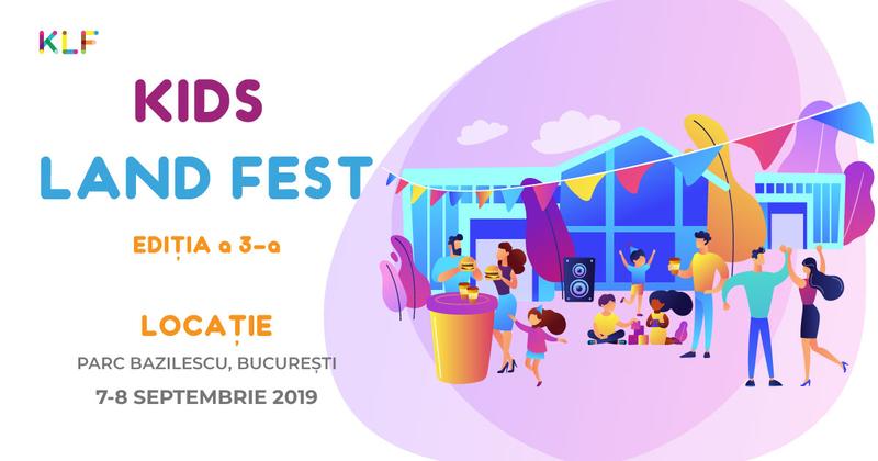 "Începe Kids Land Fest ""Back to School� in weekendul 7-8 septembrie"