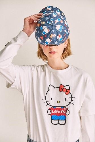 LEVI'S® x HELLO KITTY®, colaborarea ce da un twist adorabil item-urilor clasice Levi's®