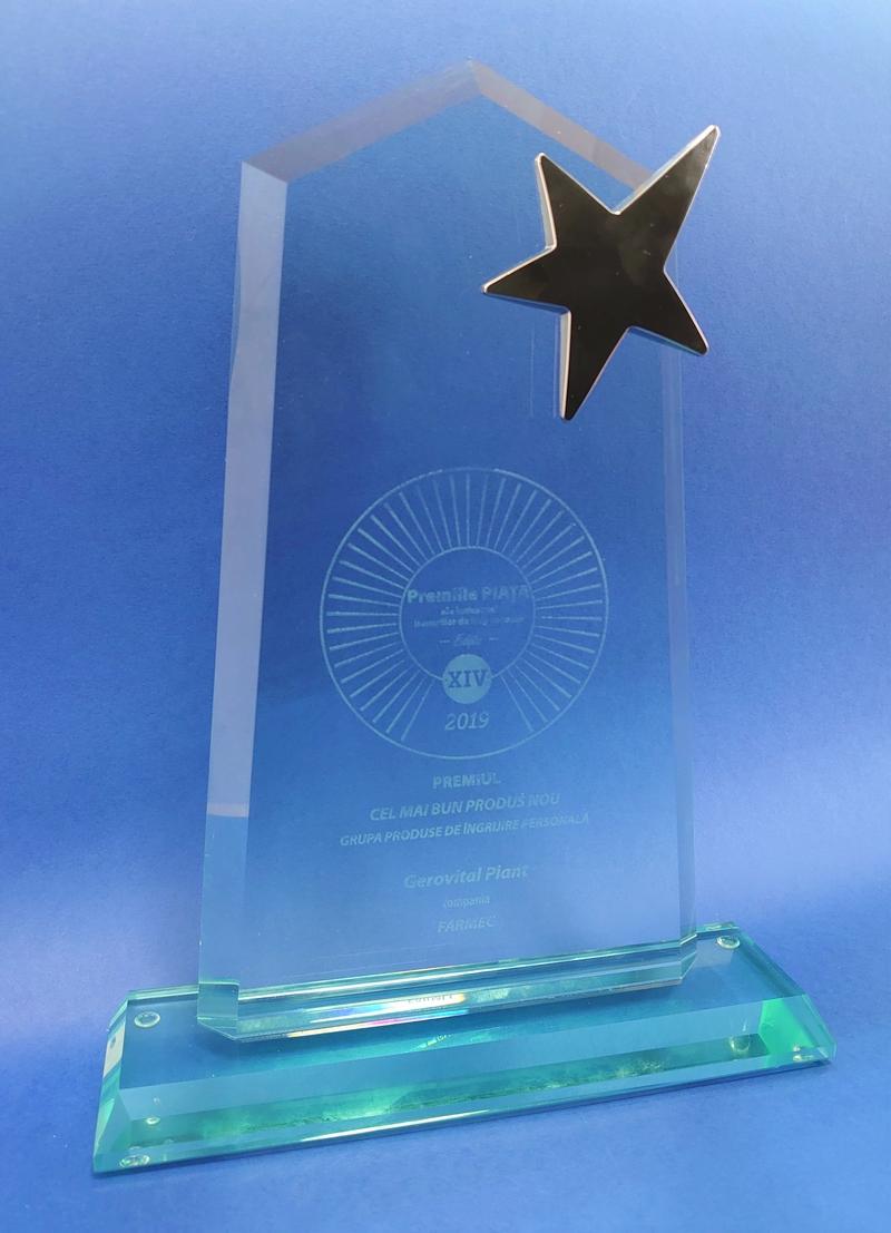 """Gerovital Plant - """"Cel mai bun produs nou""""  -  Gala Premiilor Piaţa 2019"""