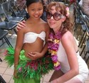 Polynesian little dancer
